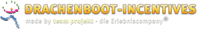 Drachenboot-Incentives made by team projekt - die Erlebniscompany